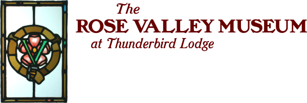 The Rose Valley Museum at Thunderbird Lodge Logo